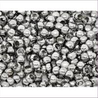 100 Quetschperlen Schmelz 3,5mm