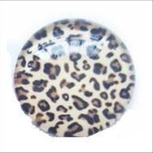 1 Cabochon rund 18mm Leopard Gepard