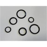 10 runde Plattenringe geschlossen  schwarz