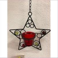 1 Wandhänger Stern für Teelichter