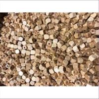 10 Holzperlen Holzwürfelperlen 8x8x8mm natur