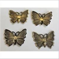 1 Anhänger Pressung Schmetterling
