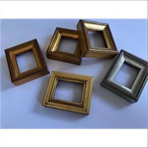 1 Bilderrahmen Holz gold