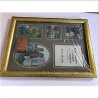 1 Bilderrahmen Holz 20x15cm gold