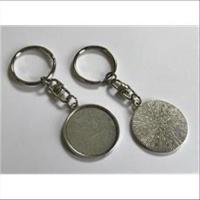 1 Schlüsselanhänger für Cabochons 30mm