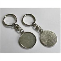 1 Schlüsselanhänger für Cabochons 25mm