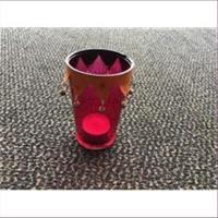 1 Windlicht Teelichtglas orientalisch