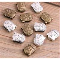 1 Beads Charm Buddha Fädelperle Schiebeperlen
