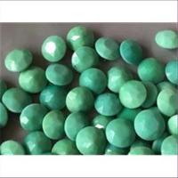 10 Bastelsteine rund 10mm lindgrün hellgrün