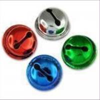 1 Schelle Glocke 9mm silber