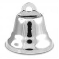5 Glocken 22mm silber
