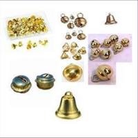1 Glocken Schellen Mischpackung goldfarbig