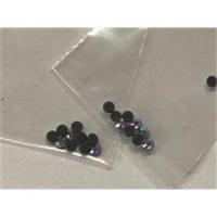 10 Straßsteine flach zum Bügeln 2mm