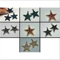 1 Stern beidseitig mit Swarovski-Steinen