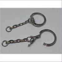 10 Schlüsselringe Schlüsselanhänger mit Kette
