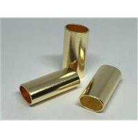 2 Rohrstücke oval flach 25x13,4x10mm