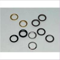 10 geschlossene Ringe 8mm