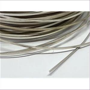 1meter Flachdraht Rechteck-Draht 935 echt Silber
