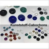 10 Cabochons 14mm blutstein