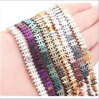 10 Magnetperlen Hämatit CC Chanel