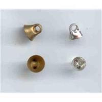 100 Glockenösen Knopfrückteile