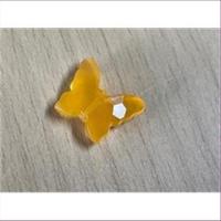 1 Acryl Schmetterling mattorange