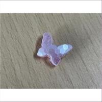 1 Acryl Schmetterling rosa-matt