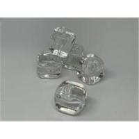 1 Acrylperle Eiswürfel cristall transparent