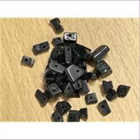 6gr. Glassplitter Perlen Mix schwarz