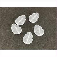 10 Acrylperlen Blätter