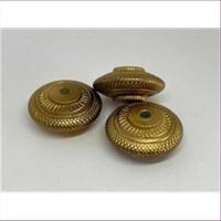 1 Acrylperle Disc Vintage gold
