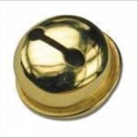 1 Schelle Glocke 9mm goldfarbig