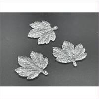 5 Acrylanhänger Blattform Blumenform