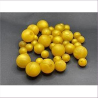 100gr. Perlenmix Acryl mattgold