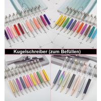 1 Kugelschreiber Stift für Perlen Selberfüllen