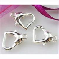 3 Herz Carabiner versilbert