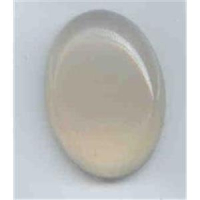 1 Cabochon Halbedelsteine 25x18mm oval