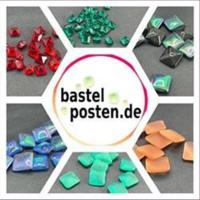 10 Bastelsteine quadratisch 13x13mm