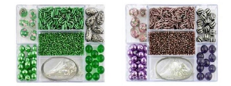 Perlen Bastelpackungen